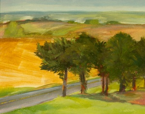 Augusta Missouri's plein air event is coming up in April!  This is a painting from last year at Balducci Winery.