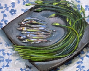 Anchovies and Chives