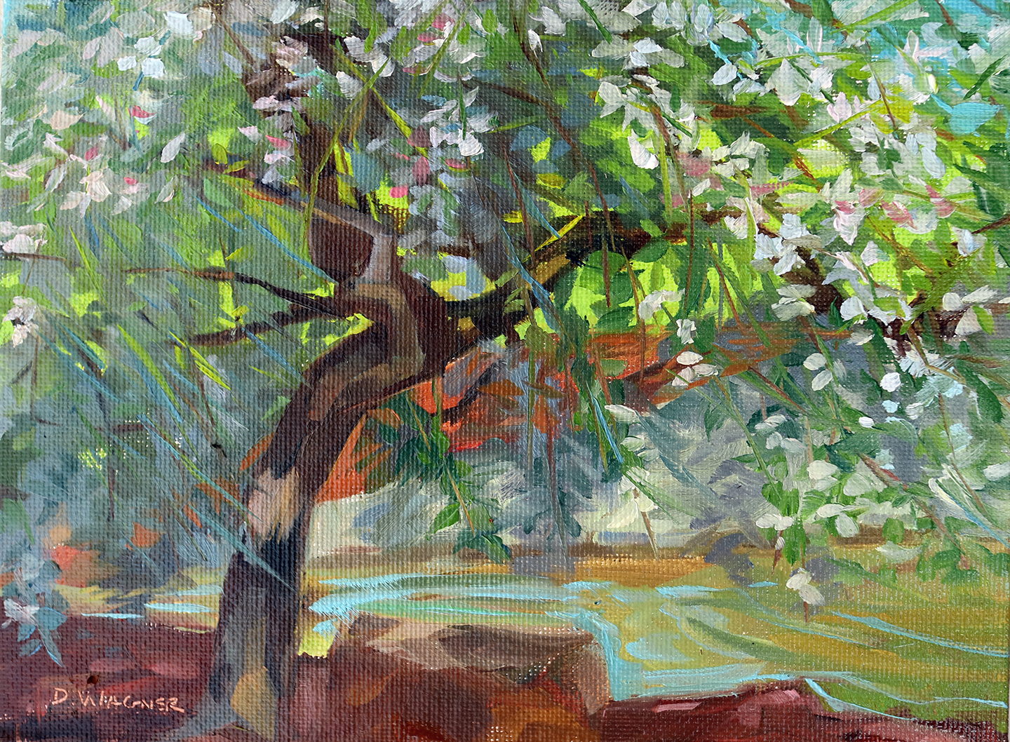 Springfield Greene County Botanical Garden Dawn Wagner Painting And Drawing