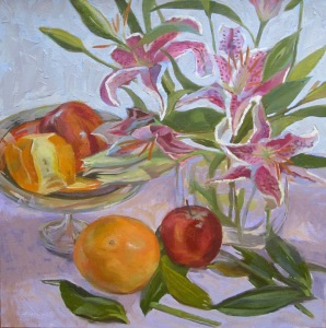 Still Life with Lilies III