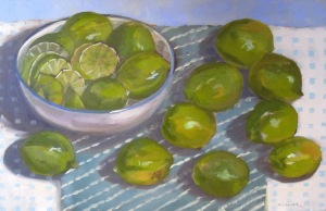 Still Life with Limes